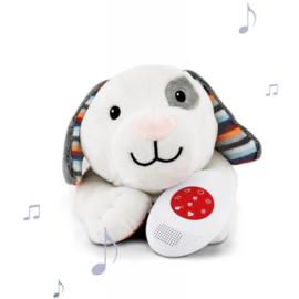 Zazu Heartbeat Knuffel Dex de hond met Geluid