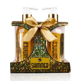 Geschenkset Shimmer goud