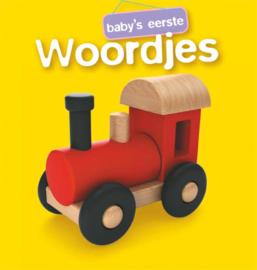 Baby's eerste woordjes stoffen boekjes