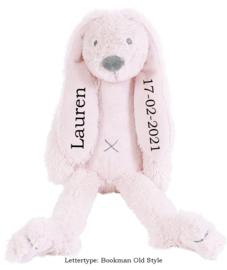 Happy Horse Rabbit Richie Pink met of zonder naam 28 cm
