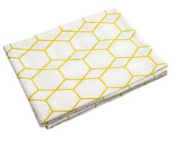 Briljant Hydrofiel luiers Grid oker 3 pack