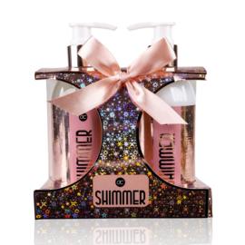 Geschenkset Shimmer roze