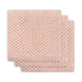 Jollein Hydrofiel luiers Snake pale pink