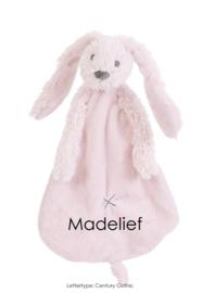 Happy Horse Rabbit Richie Pink Knuffeldoekje met of zonder naam