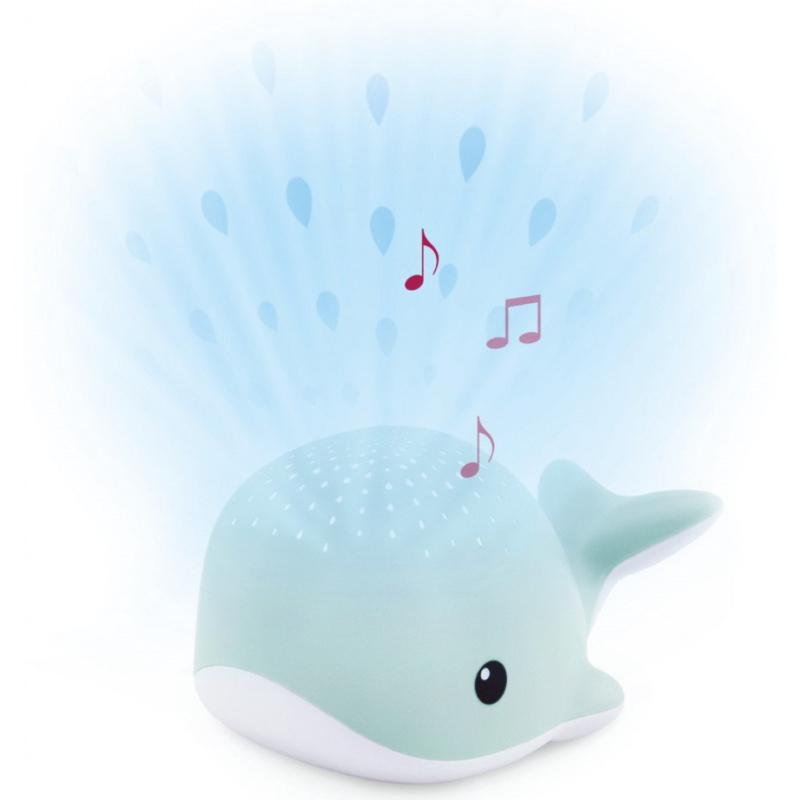 Zazu Wally Blauw/Groen muzikale babyprojector
