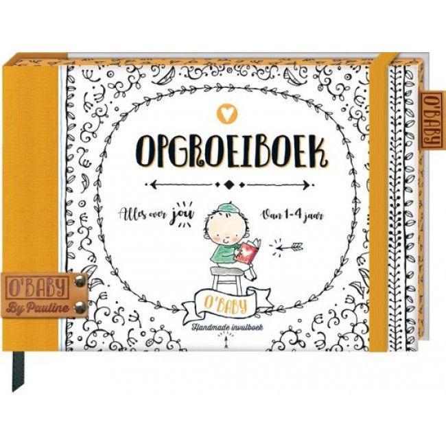 Invulboek Pauline Oud  O'Baby opgroeiboek