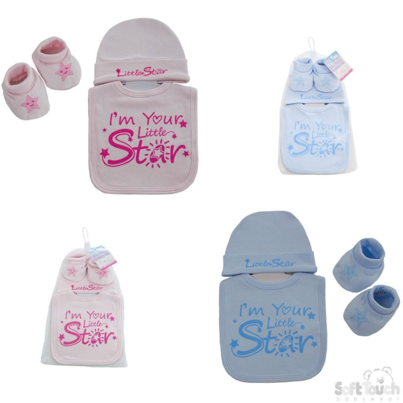 Gift set I'm Your Little Star roze