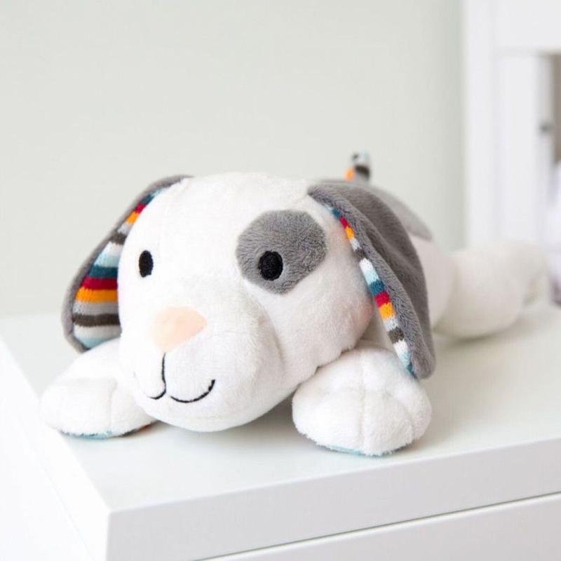 Zazu Heartbeat Knuffel Dex de hond met Geluid met of zonder naam