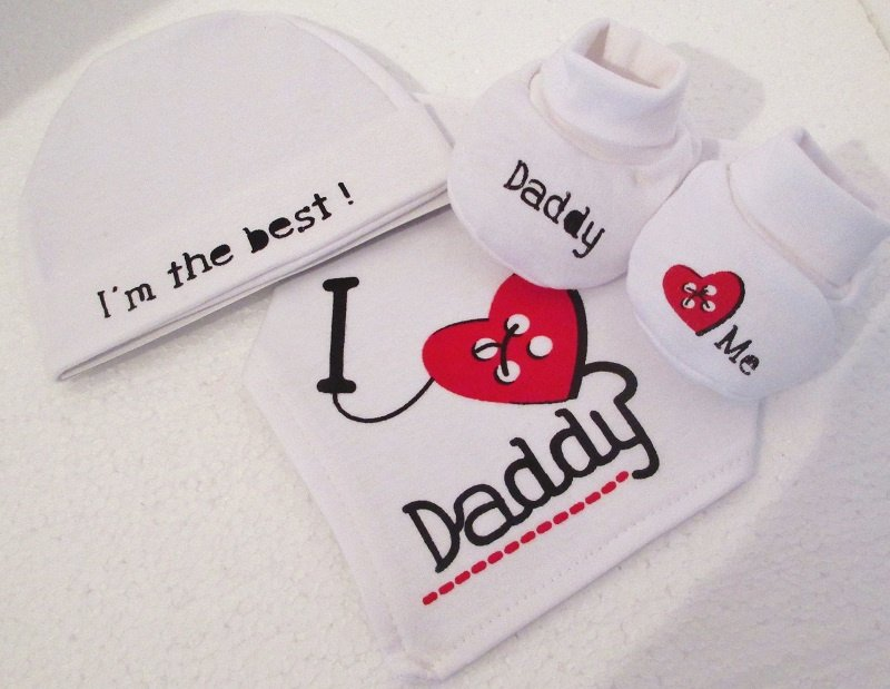 Soft Touch gift set Daddy 3-dlg.