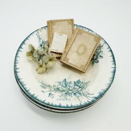 Diepe borden Sociëte Ceramique Maestricht