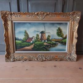 Prachtig schilderij van G.Jonkergouw