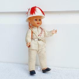 Oud popje , ontdekkingsreiziger
