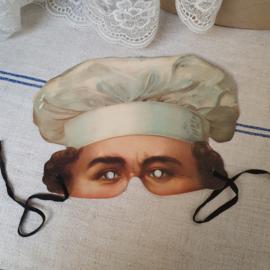 Oud masker , bakker ( madame tussauds )