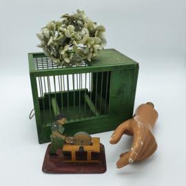Groen vogelkooitje