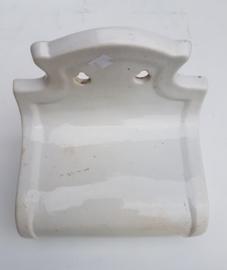 oude porceleinen toiletpapierhouder