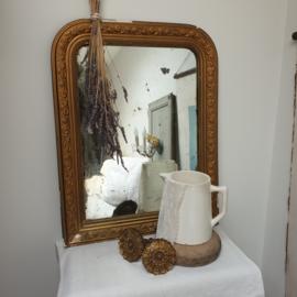 Oude , franse spiegel
