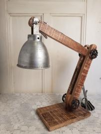 Stoere bureaulamp