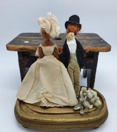 Stelletje oude popjes