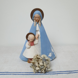 Lichtblauwe Maria