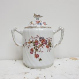 Mooie oude suikerpot uit Frankrijk