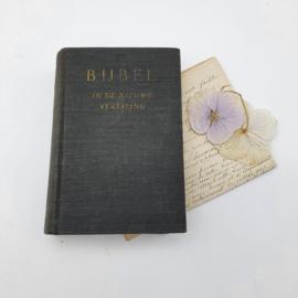 Kleine nederlandse bijbel, zwart uit 1954 (8)