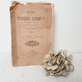 Oud, frans poëzie boekje