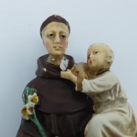 Klein, gipsen Jozefbeeldje