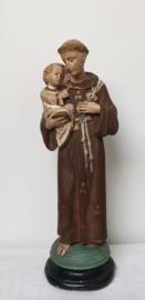 Heilige Antonius met kindje Jezus,  43 cm