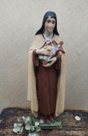 Gipsen beeld , Heilige Theresia