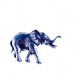 Tinnen speld/pin Olifant