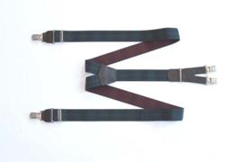 Hendrik Gold bretel ruit groen rood ( 4 clips )