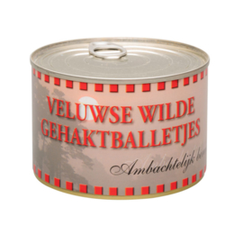 Veluwse Wilde Gehaktballetjes