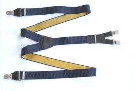 Hendrik gold bretels stipjes