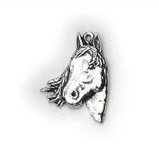 Halsetting hanger Paarden hoofd