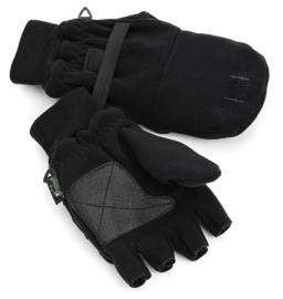 Pinewood Fleece handschoen Ultra Stretch zwart