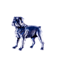 Tinnen speld/pin Rottweiler