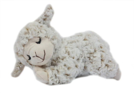 Knuffel schaap slapend ( pluche )