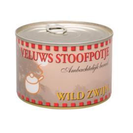 Veluwse stoofpotje wild Zwijn blikje 400 gram