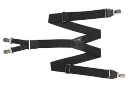 Hendrik bretel zwart ( 4 clips )