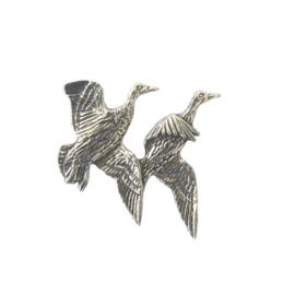 Tinnen speld/pin Eenden vliegend ( 2 )