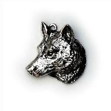 Halsketting hanger Wolf