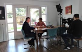 Opnames RTL bij Liefs van Roos