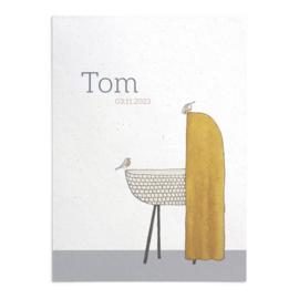 Geboortekaart Tom