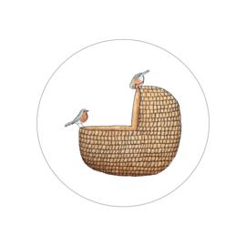 mandje en vogels