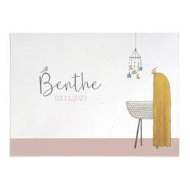 Geboortekaart Benthe