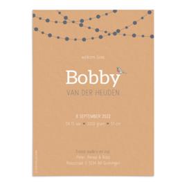 Geboortekaart Bobby