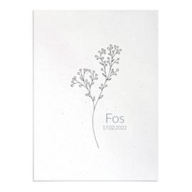 Geboortekaart Fos