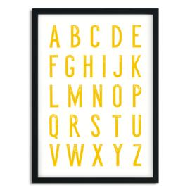Poster Alfabet A5 of A4