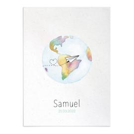 Geboortekaart Samuel