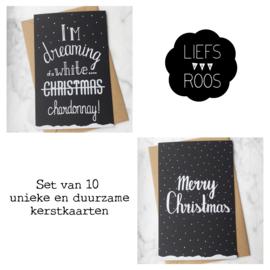 Kerstkaarten - set van 10